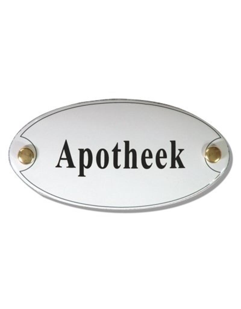 Naamplaatje apotheek