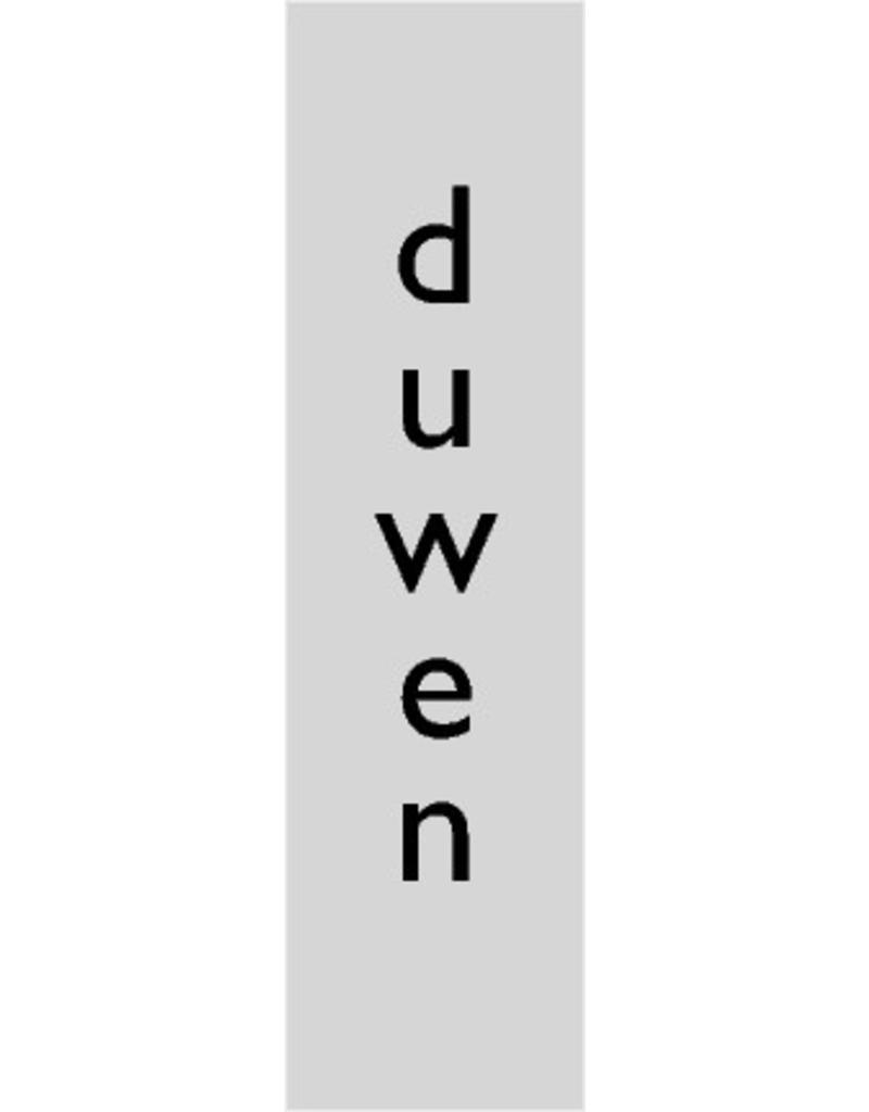 """Pictogram """"duwen"""""""