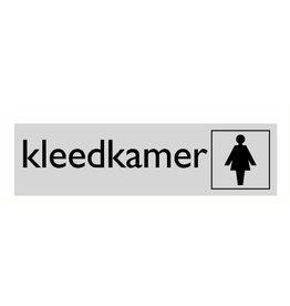"""Pictogram """"kleedkamer"""""""