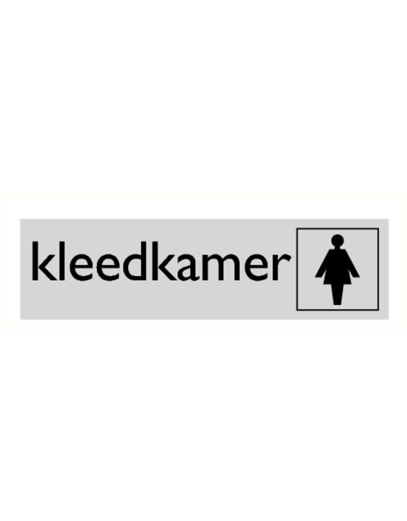 "Pictogram ""kleedkamer"""