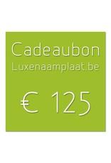 Cadeaubon €125