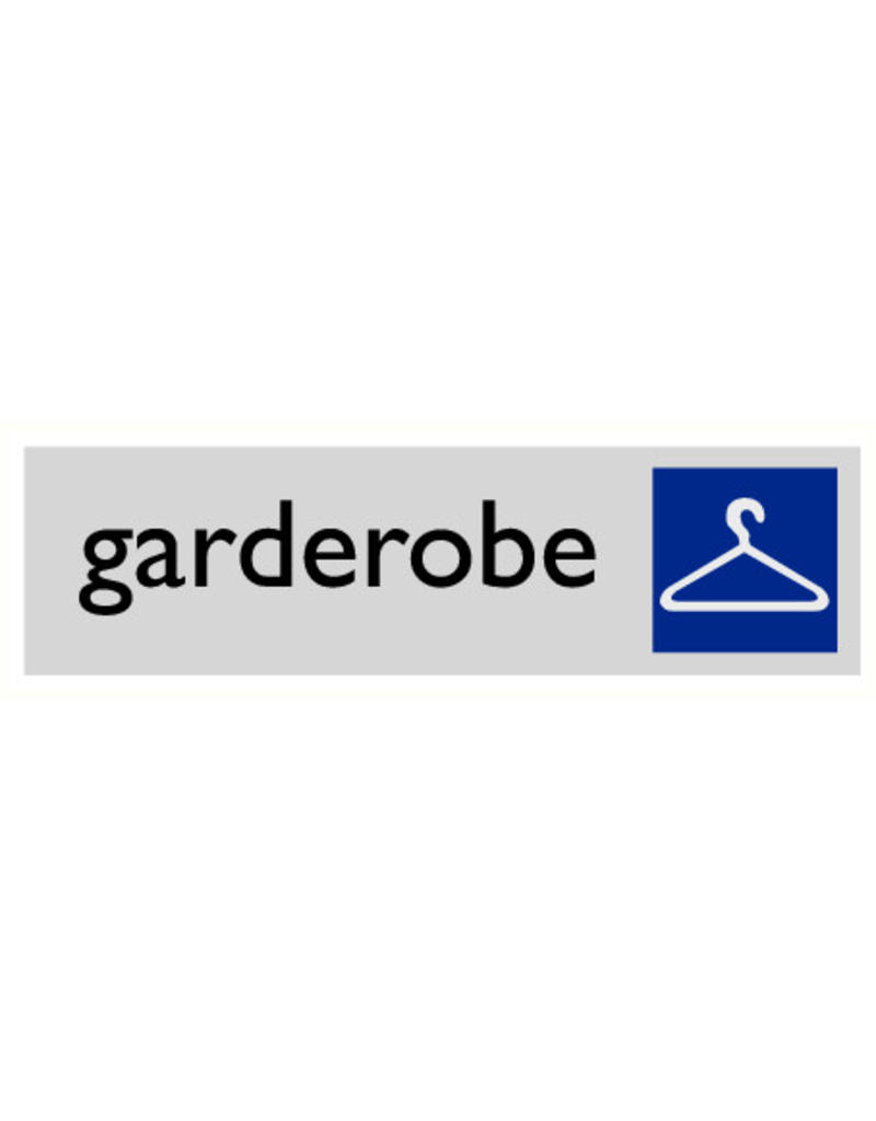 "Pictogram ""garderobe"""
