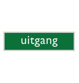 "Pictogram ""uitgang"""