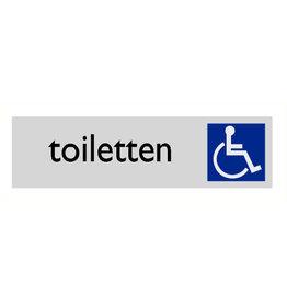 """Pictogram """"toiletten rolstoel"""""""