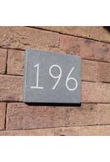 Blauwsteen huisnummer 12x10
