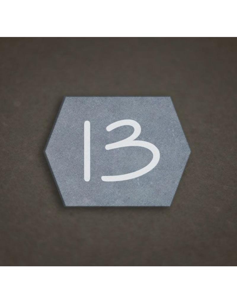 Blauwsteen 16x12 zeshoek
