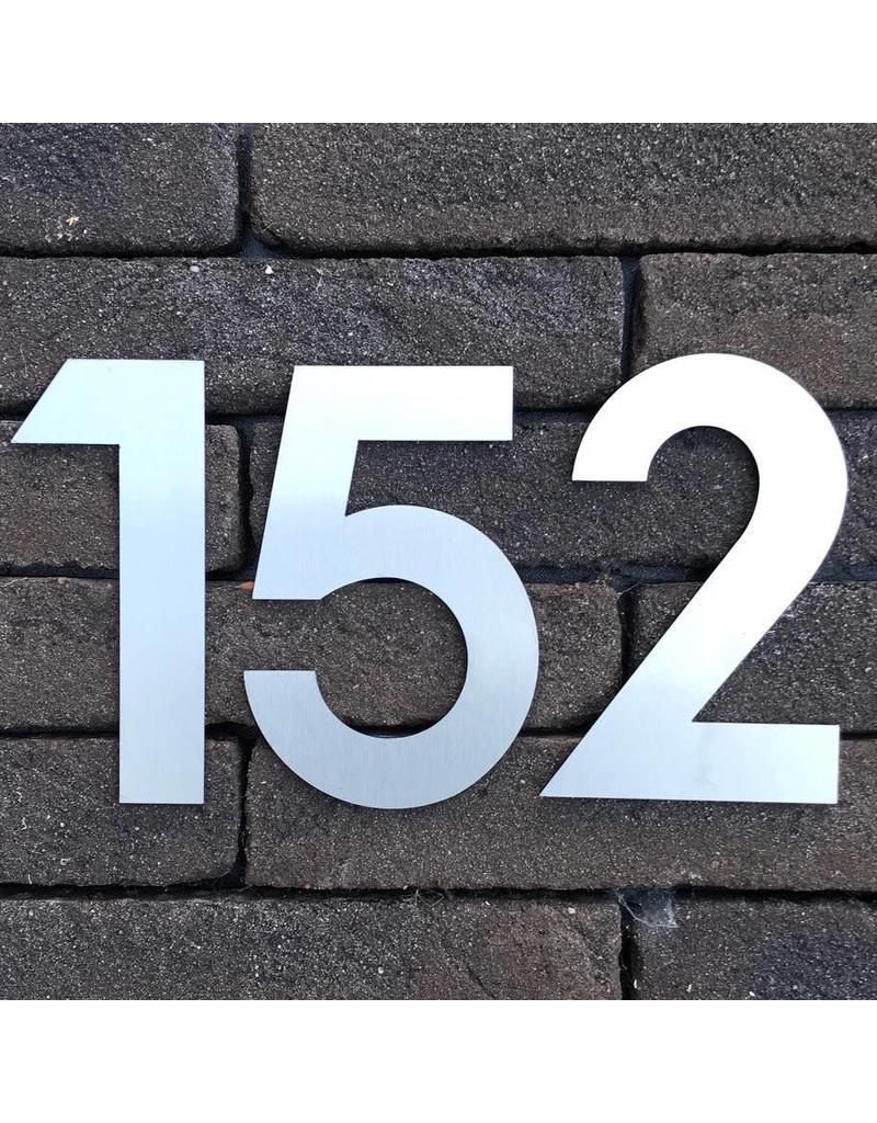 Huisnummer om te kleven 120mm