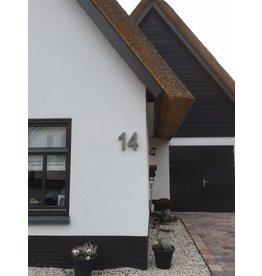 Huisnummer Beton 20cm. Huisnummer Beton 20cm.