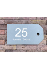 Naambord in beton tag rechts(20x35mm) Naambord in beton tag rechts(20x35mm)