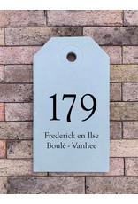 Naambord in beton tag  (20x35mm) Naambord in beton tag  (20x35mm)