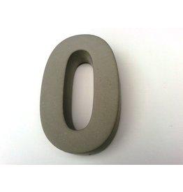 Huisnummer 0   beton 20cm
