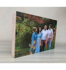 Houten fotoblok Houten fotoblok 40mm