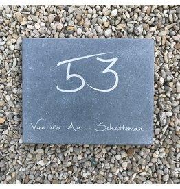 Blauwsteen, 25 x 20 cm