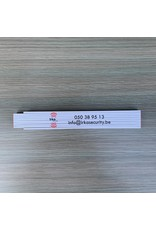Stabila Pro Bedrukte vouwmeters 1 zijde full color.