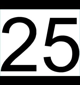 Huisnummer: 25