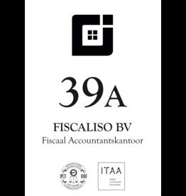 Naamplaten +huisnummerplaat voor accountantskantoor