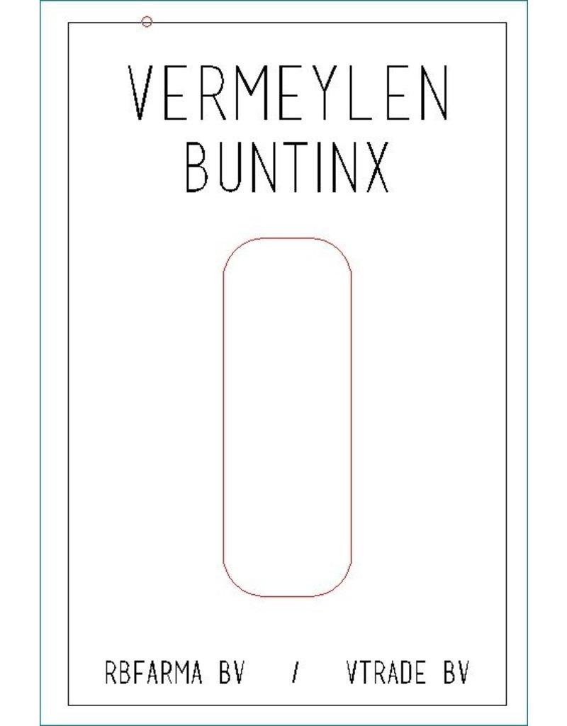 Naamplaat Vermeylen - Buntinx Naamplaat Vermeylen - Buntinx