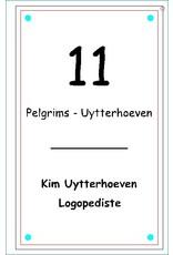 Naamplaat Logopediste