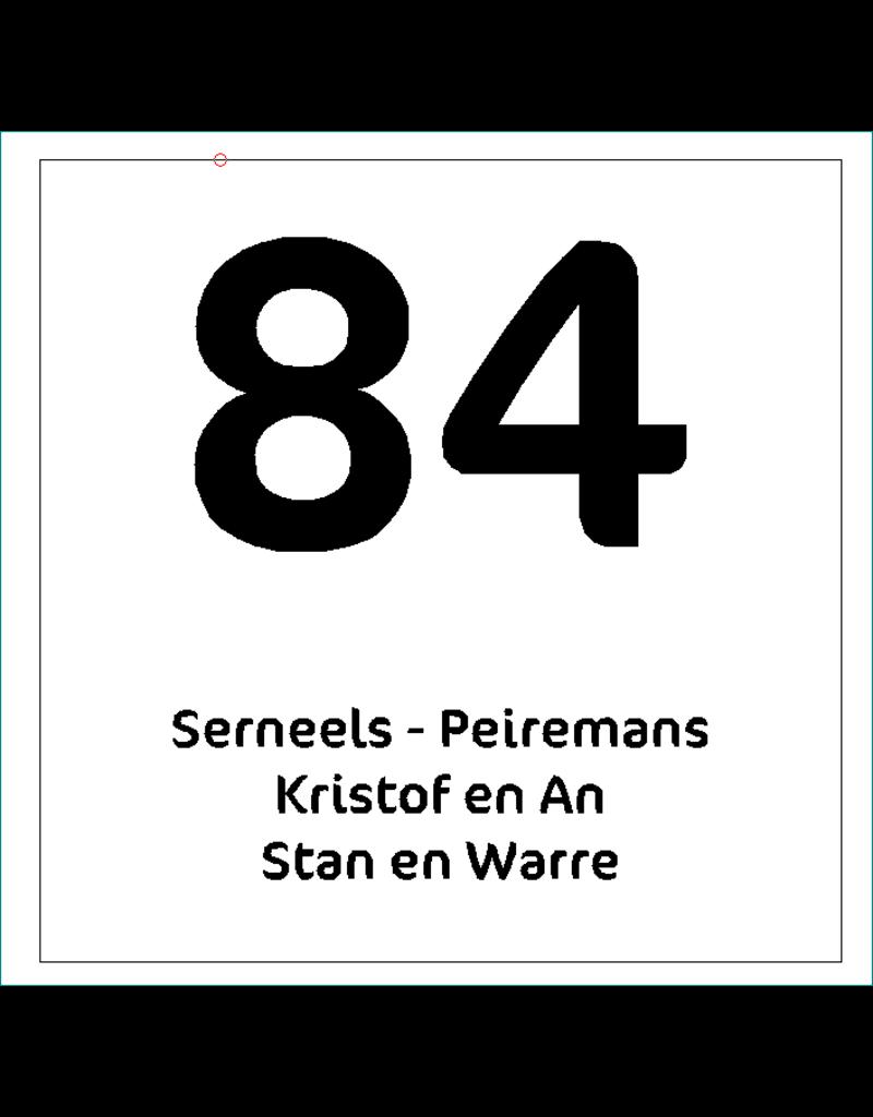 Naamplaat Serneels