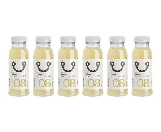 DrDetoxBox Lemon Juice Water Nº8 - 6-Pack