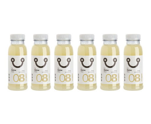 DrDetoxBox Water Lemon Juice Nº8 - 6-Pack