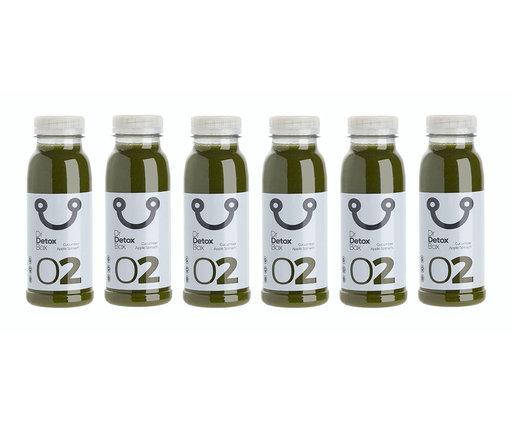 DrDetoxBox Green Sweetness Nº2 - Cucumber, Apple & Spinach