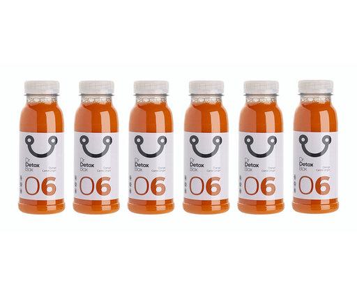 DrDetoxBox Jus de Orange Carotte Gingembre Nº6