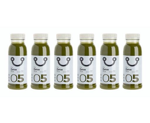 DrDetoxBox Green Freshness Nº5 - Apple, Spinach & Celery