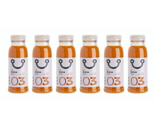DrDetoxBox Mango Carrot Apple Juice - Nº3 - 6-pack