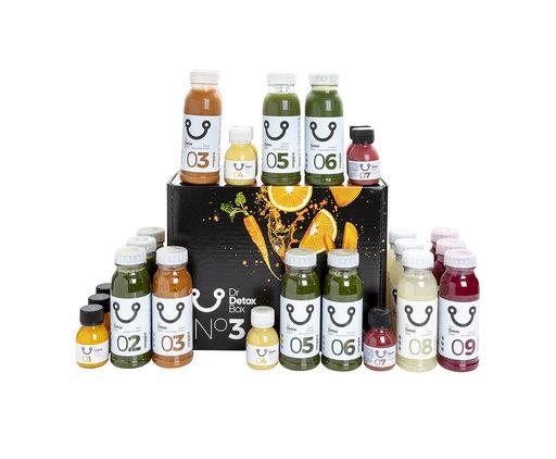 DrDetoxBox 3 Day Juice Diet - SlimBox N°3