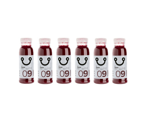 DrDetoxBox Bietensap pastinaak gember - Veggie Nº9 - 6-Pack