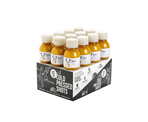 DrDetoxBox Turmeric Shots - Box of 12