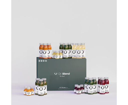 3 Day Juice Diet - SlimBox N°3
