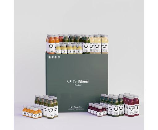 Dr. Blend 7 Day Juice Diet - SlimBox N°7