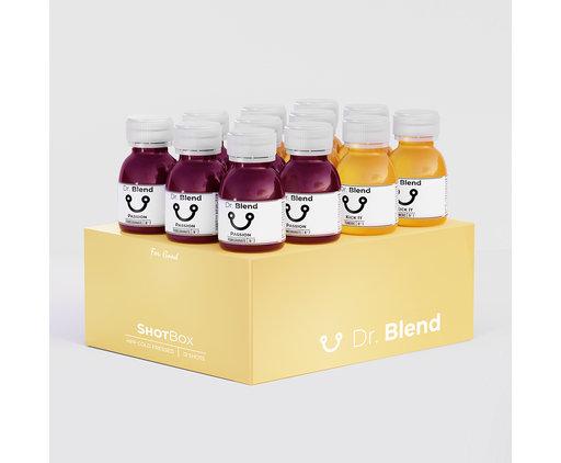 Turmeric & Pomegranate Juice Shots - ShotBox
