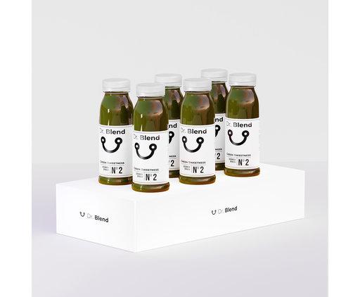 Green Sweetness Nº2 - Cucumber, Apple & Spinach