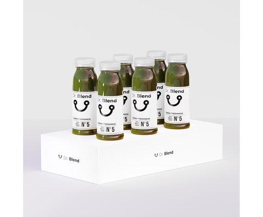 Dr. Blend Green Freshness Nº5 - Pomme, Épinards & Céleri