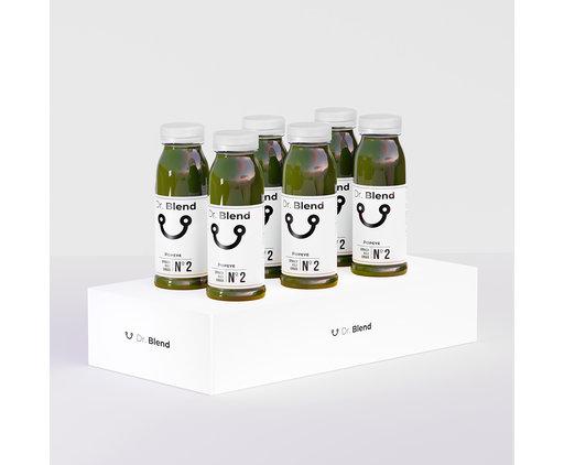 Dr. Blend Jus de Chou Kale Épinards Gingembre - Veggie Nº2