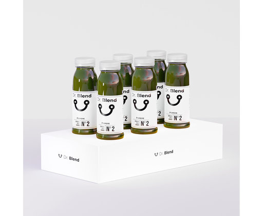 Jus de Chou Kale Épinards Gingembre - Veggie Nº2