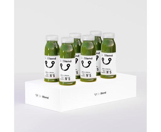 Green Metal Nº5 - Spinach, Celery & Coconut Water