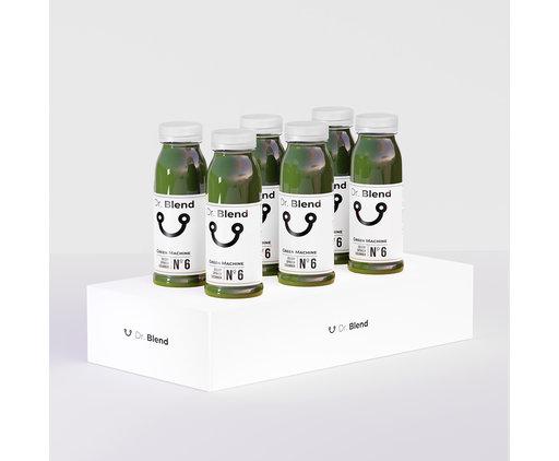 Green Machine Nº6 - Spinach, Cucumber & Celery