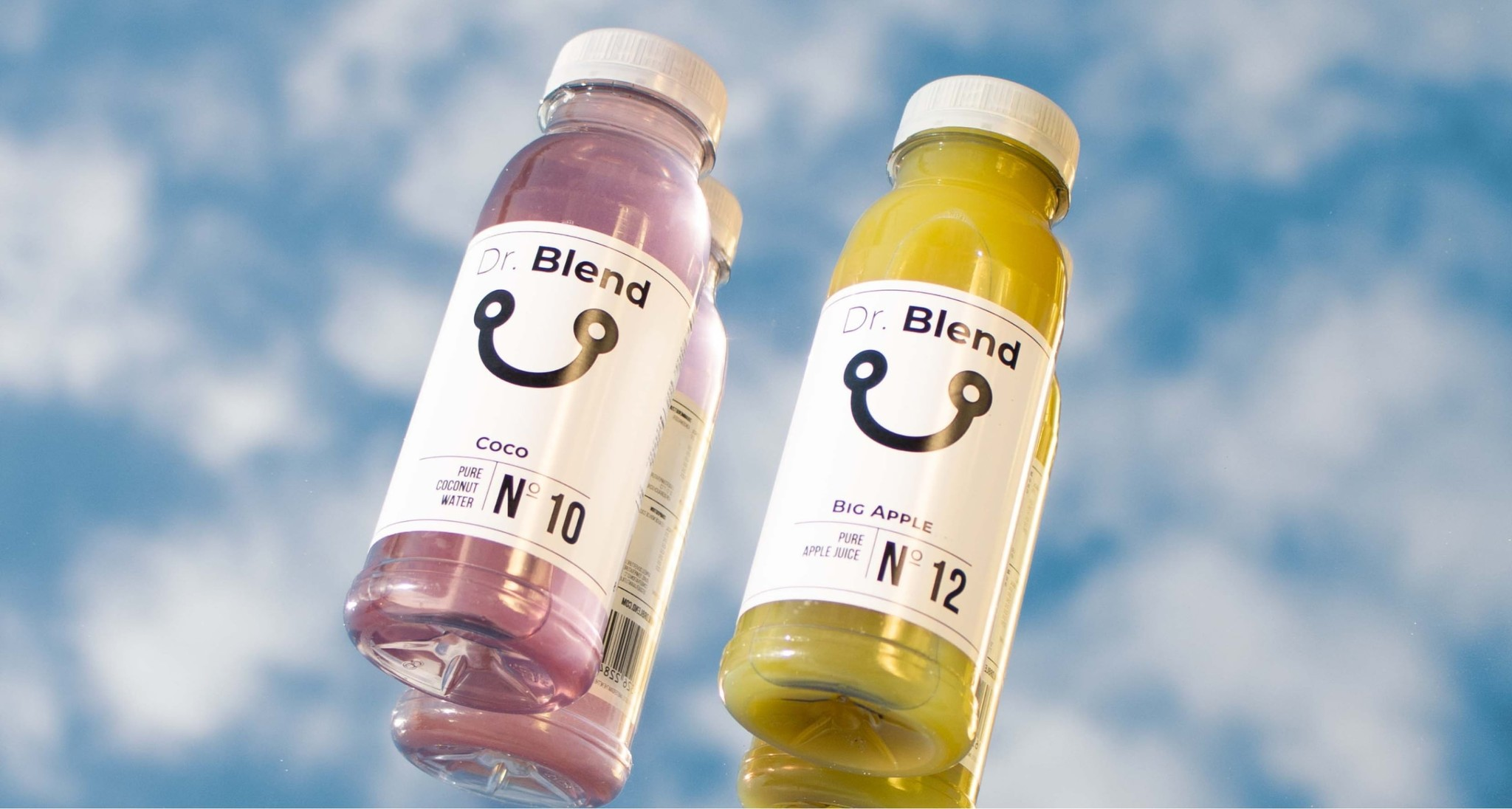 Our Dr. Blend juices