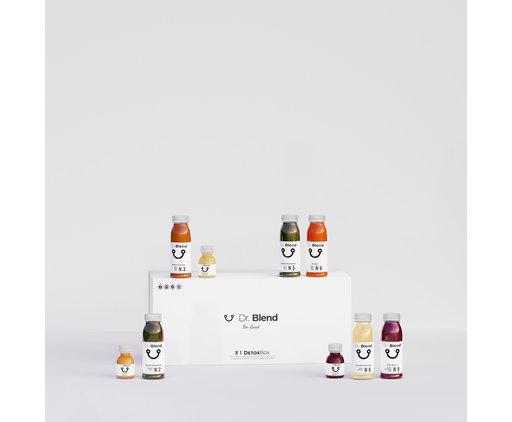 Dr. Blend Combi Detox Juice Cure - DetoxBox N ° 2
