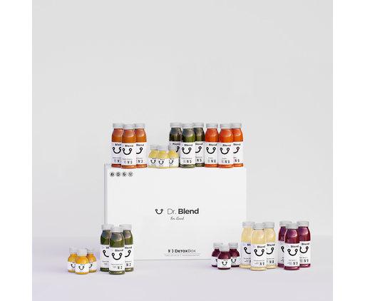 Dr. Blend 3 Days Combi Detox Juice Cure - DetoxBox N ° 3