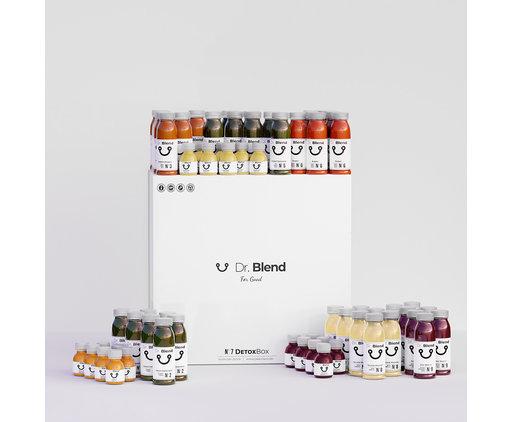 Dr. Blend Cure de Jus Combi Detox 7 Jours - DetoxBox N°7