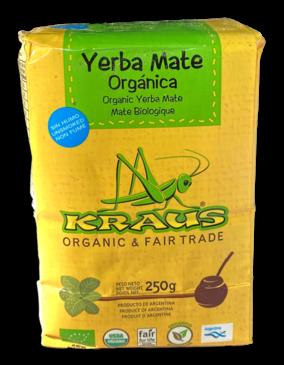 Kraus Yerba Mate Kraus Bio Mate Orgánica | 250 gram