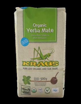 Kraus Yerba Mate Kraus Bio Mate Orgánica | Pure Leaf 500 gram