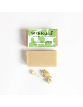 Werfzeep Werfzeep Shampoo Blok - Kruidenshampoo - 100 gram