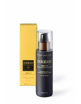 Oolaboo Mighty rice - blow dry booster