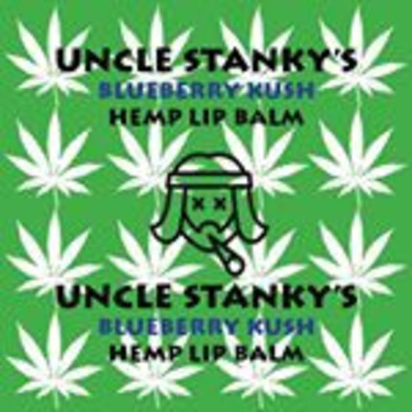 "HEMP LIP BALM ""UNCLE STANKYS"" DIRECTLY FROM LAS VEGAS"